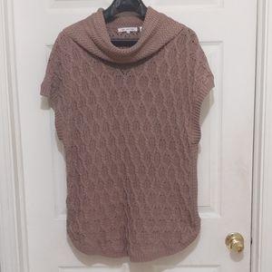 Eight Eight Eight cowl neck cap sleeve sweater